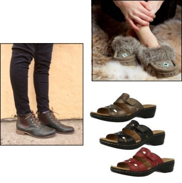 •Columbia, Merrell, Sorel, even Tender Tootsies.  Top brand name footwear at Jensen's Men's Wear.